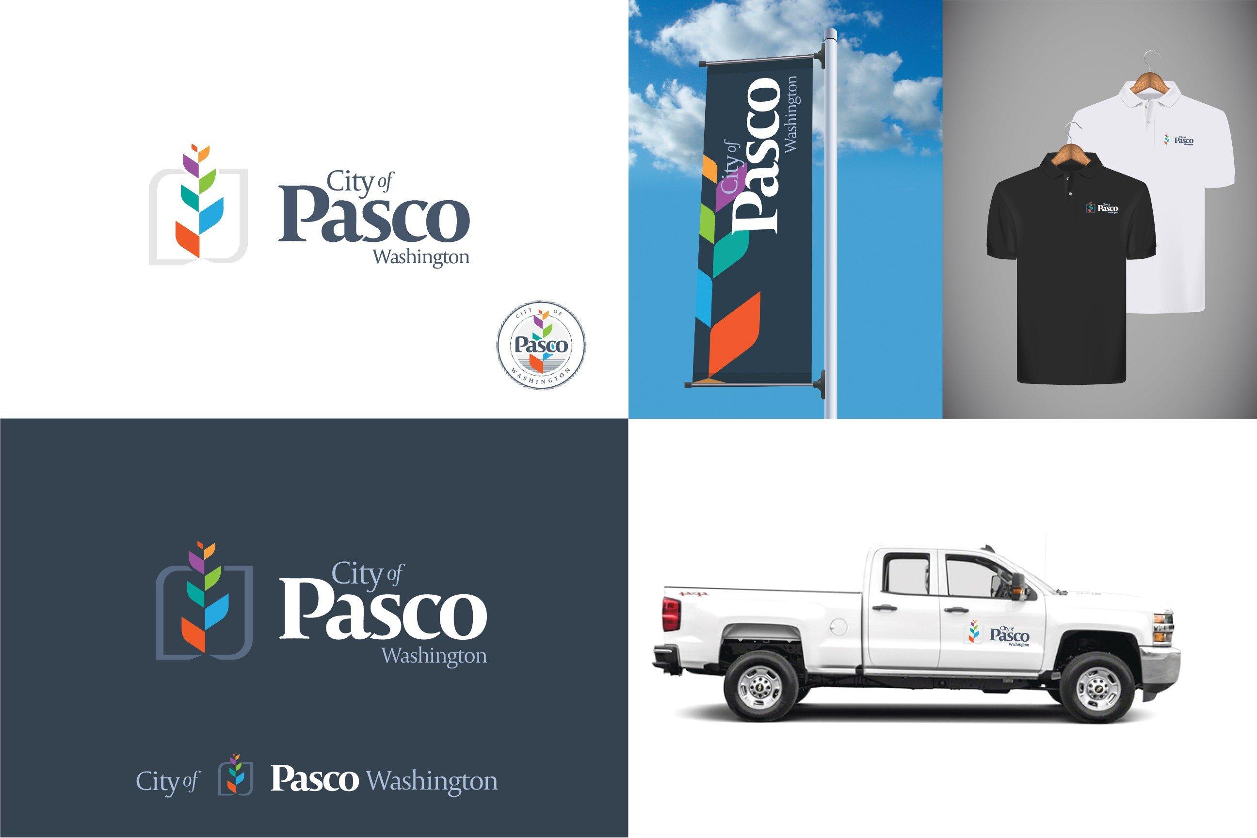 """© Pasco logo: """"Growth"""""""