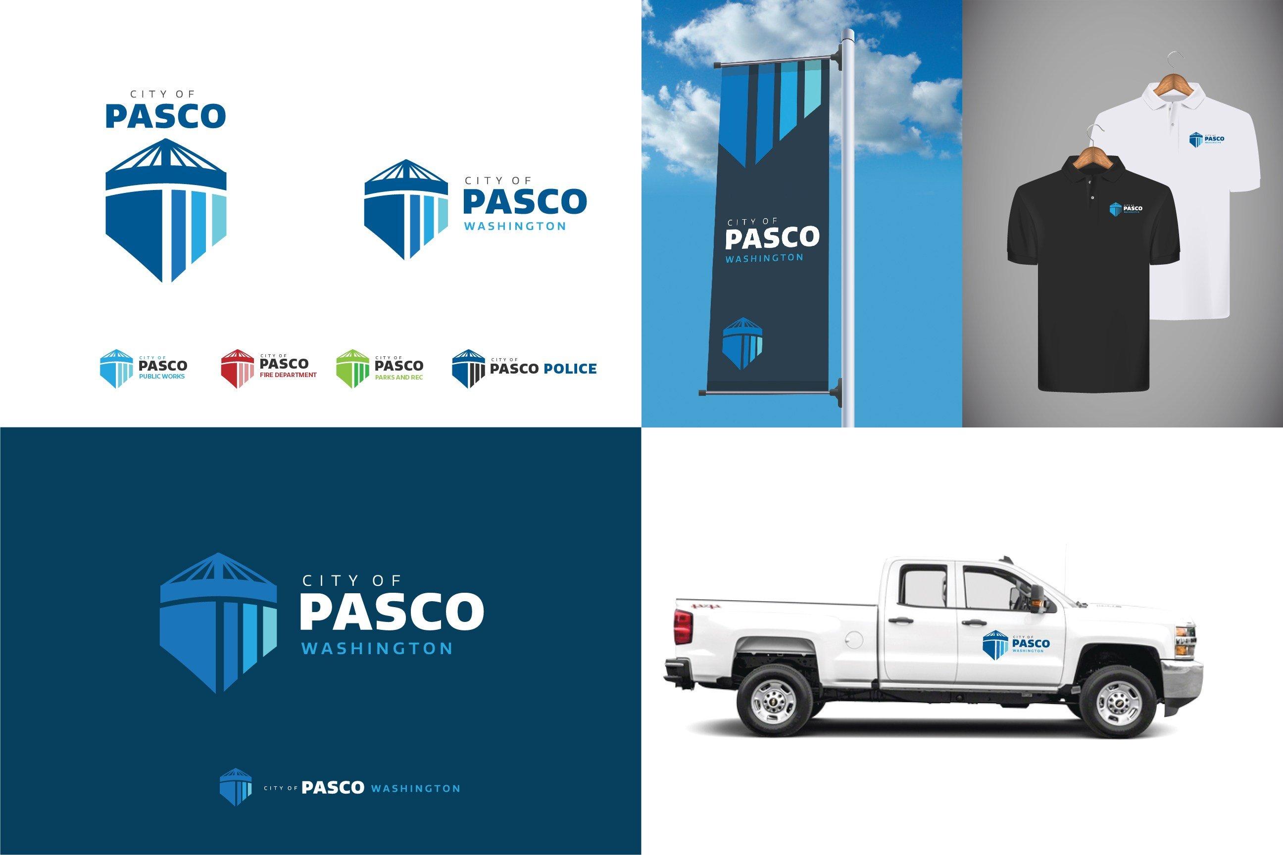"""Pasco logo: """"Shield"""""""