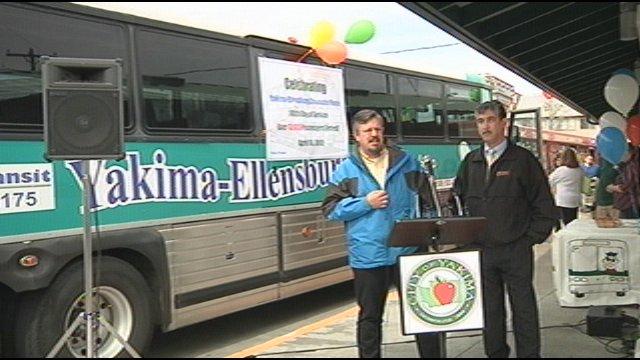 Yakima to Ellensburg transit service celebrates 13,000 riders - NBC ...
