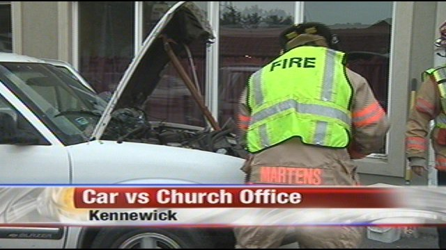 Man Slams Suv Into Side Of Kennewick Church Office Nbc