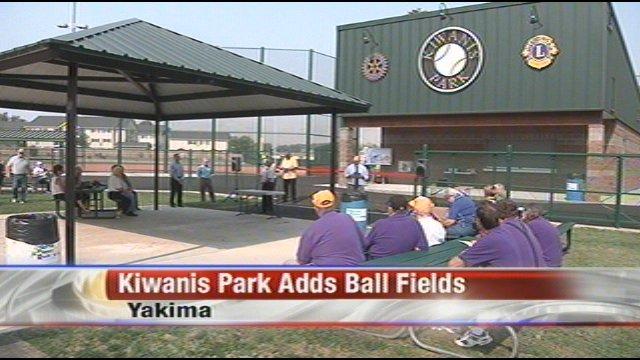 Kiwanis Park Adds Three New Ball Fields