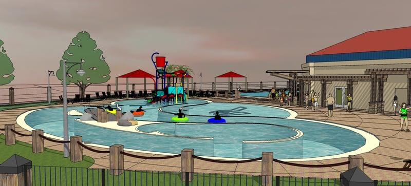 Columbia basin racquet club building water playground - Public swimming pools tri cities wa ...
