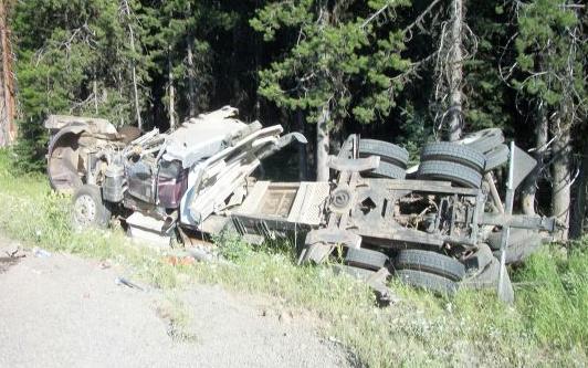 Montana Man Dead After Rolling Log Truck Near Pendleton