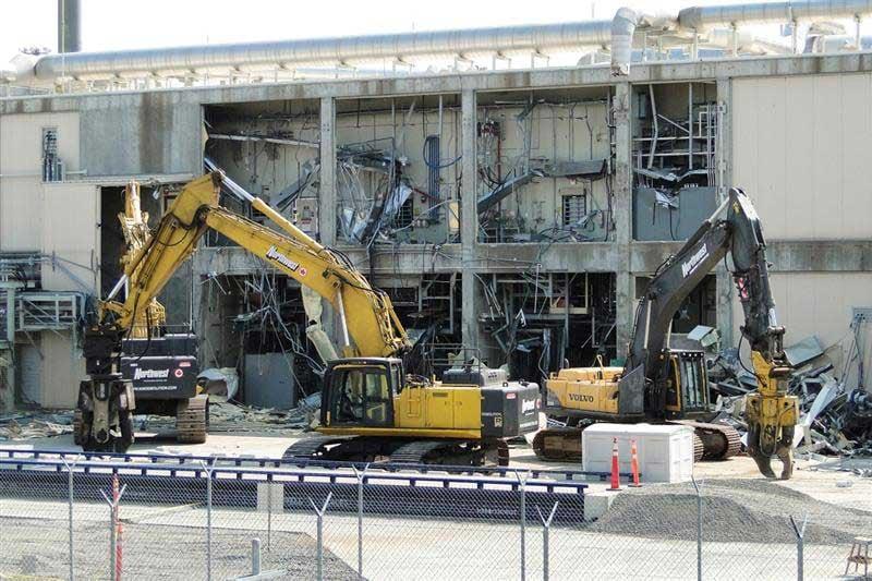Home Depot Demolition : Mass demolition of umatilla chemical depot now underway