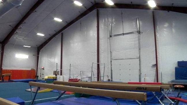 A look inside the new gymnasium at Garland's Gymnastics