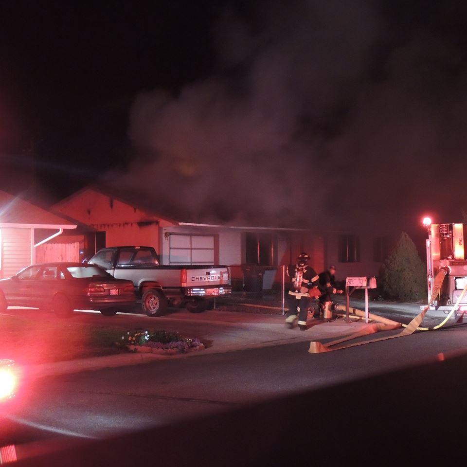 House Fire on Spokane Street Sunday Night
