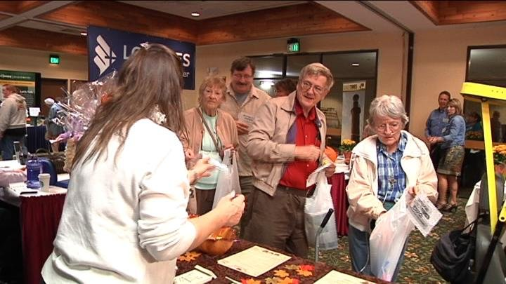 Hundreds of senior citizens or soon-to-be seniors showed up in the opening hour of  the Senior Times Expo.