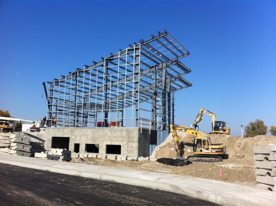 The Hanford Reach Interpretive Center is beginning to take shape along the Columbia River in Richland.