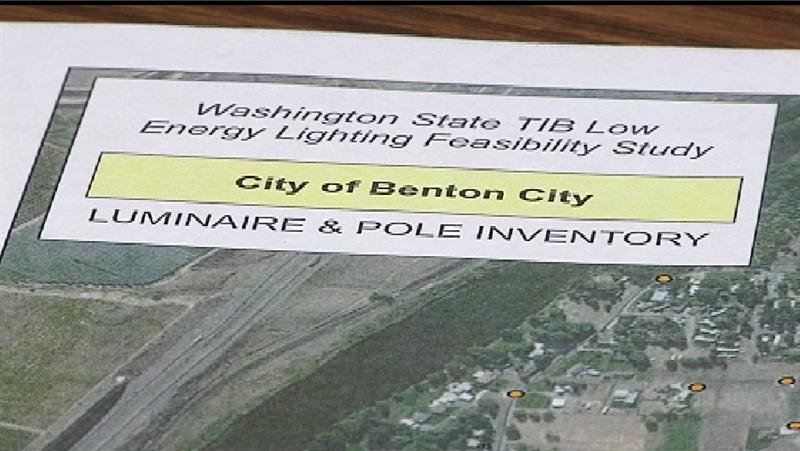Benton City is one of six small towns chosen by the state's Transportation Improvement Board to take part in the project.