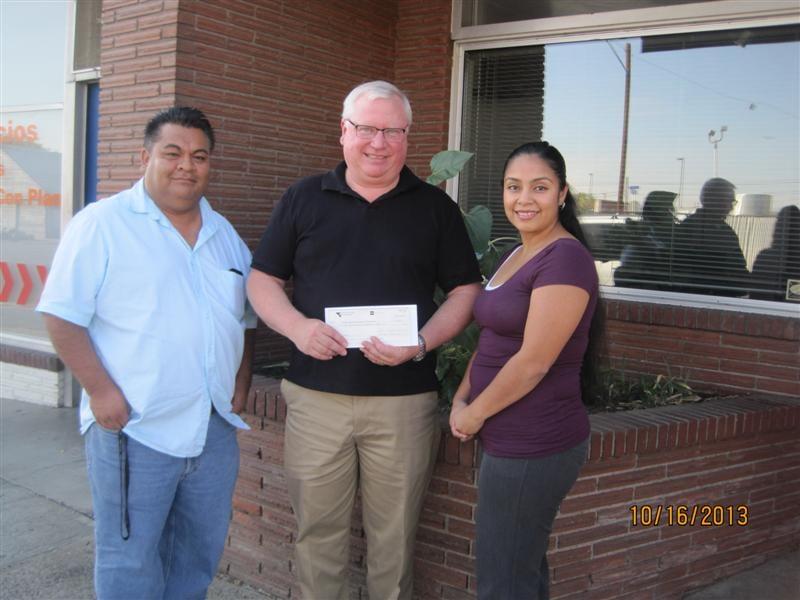 Pacific Power donates to Yakima County's Hispanic Chamber of Commerce