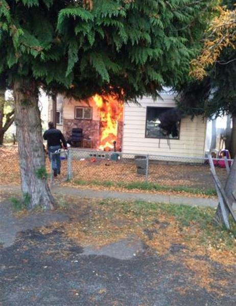 Investigators say two boys were killed after a fire ripped through a home in Cle Elum Friday afternoon.