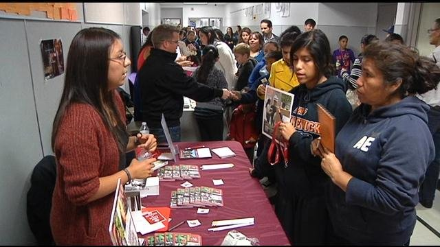 Families and Educators celebrated some of Kennewick's best Spanish speaking students Thursday night.