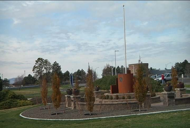 Columbia Basin College marked Veteran's day by dedicating a new veterans monument on campus.
