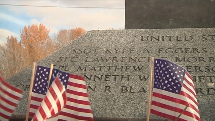 Many people in Yakima paid their respects Monday afternoon at a gathering held at the Korean and Vietnam Memorial Monument at Sarg Hubbard Park.
