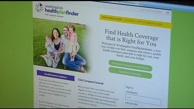 New federal statistics show Washington state has signed more people up for health insurance since open enrollment began Oct. 1 than any state other than New York and California.