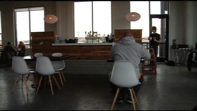 Fire Artisan Pizza on Columbia Center Boulevard opened it's doors two weeks ago and of