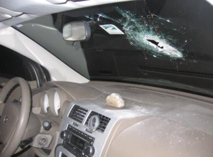 The Washington State Patrol needs your help finding the people responsible for throwing rocks at cars.