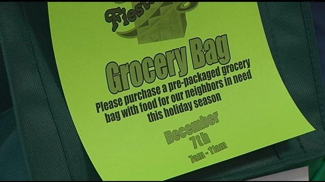 Fiesta Foods in Pasco is also already getting into the spirit of giving.