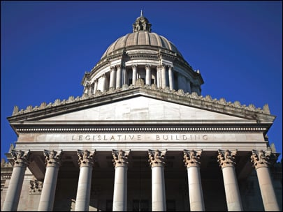 Washington state's revenue forecast is remaining steady.
