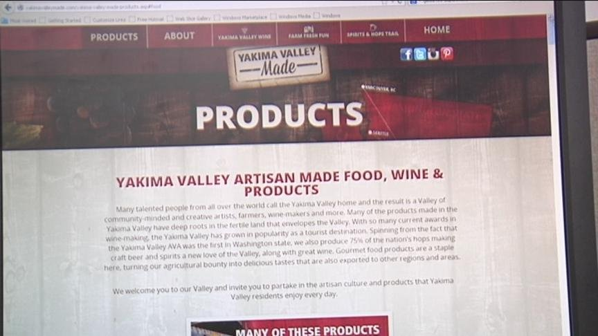 The Yakima Valley Visitors and Convention Bureau just launched Yakima Valley Made, a website that provides a directory of more than 100 locally based farm products, crafted consumer goods, food and beverages.