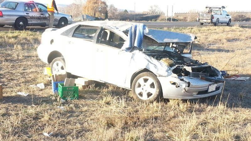 The Washington State Patrol is investigating a fatal crash near Prosser that killed one woman.