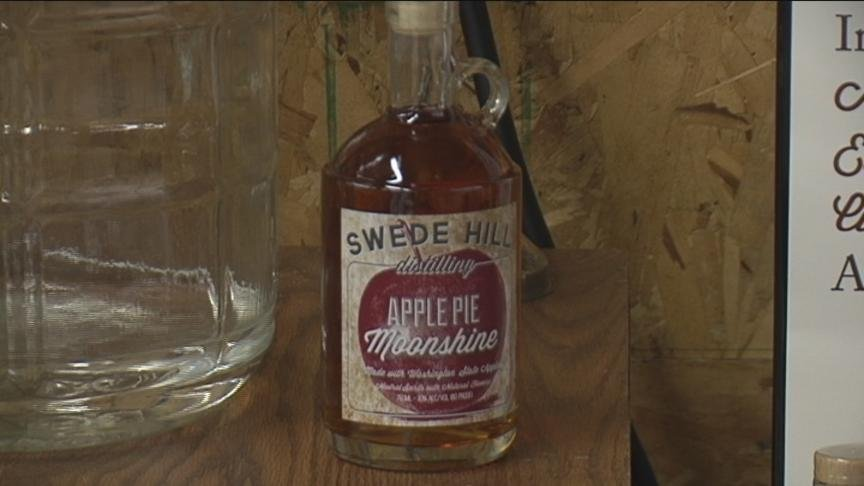 A start-up in Yakima is stirring up a special kind of spirit from local crops to get you ready for the holidays.