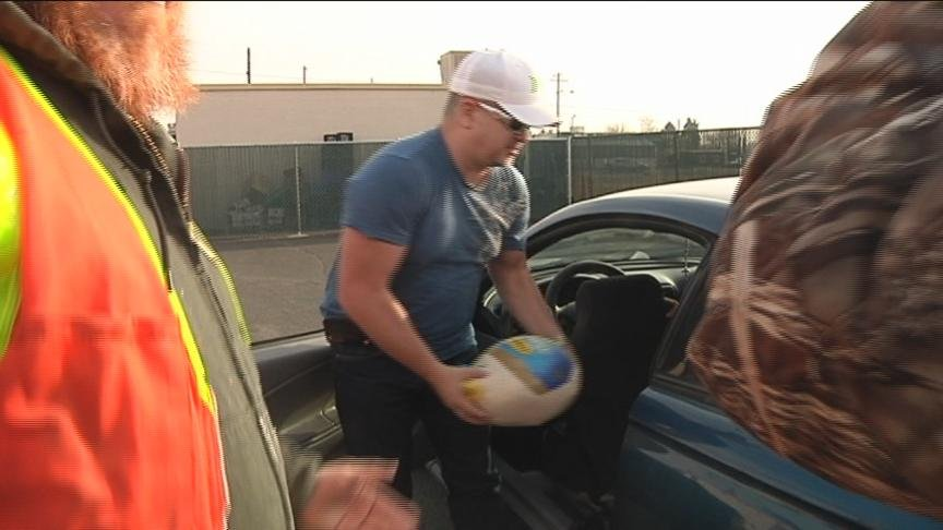 Thanksgiving is just two days away and families in need may be wondering how they will put food on their holiday table.