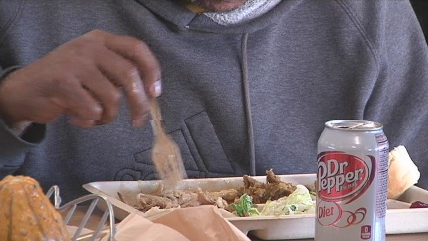 Instead of cooking up a big Thanksgiving dinner at home, dozens of people in Yakima volunteered to help those less fortunate.