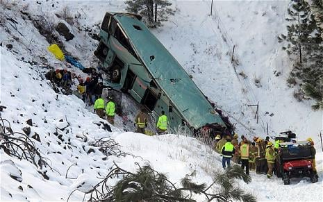 A prosecutor says he has yet to decide whether to file criminal charges in connection with a fatal bus crash on Interstate 84 in eastern Oregon.