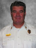 Fire Chief Dave Wilson