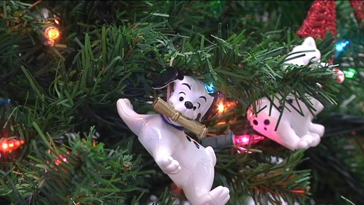 Workers at the Horn Rapids Landfill insist Santa's pets decorated the scale house Christmas tree. The landfill's annual pet supply drive goes through the holidays.