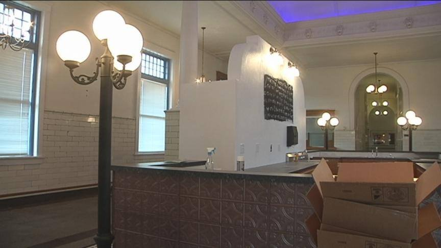The owner of North Town says they'll be moving into the historic Train Depot Building along North Front St. on Saturday.