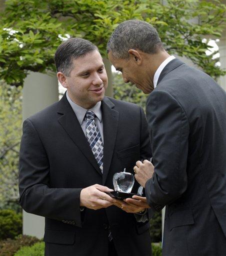 Zillah High School teacher and the 2013 National Teacher of the Year, Jeff Charbonneau