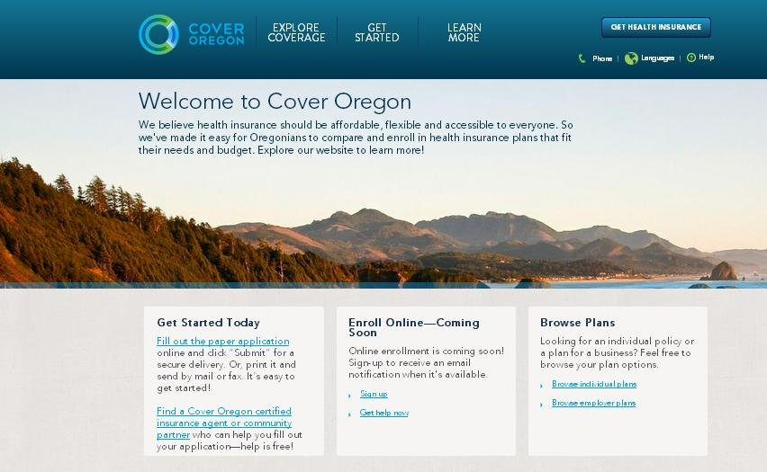The leader of Oregon's troubled health insurance exchange says thousands of Oregonians who sent in their applications by the deadline may have to go elsewhere for temporary coverage.