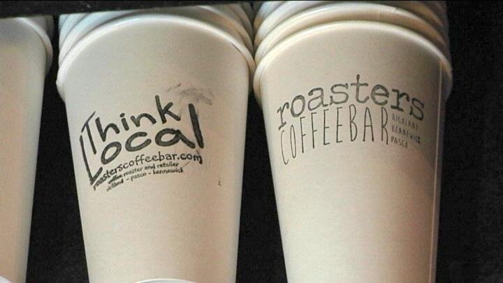 Roasters Coffee new stand is located on the corner of W. Van Giesen Street and 40th Avenue in West Richland.