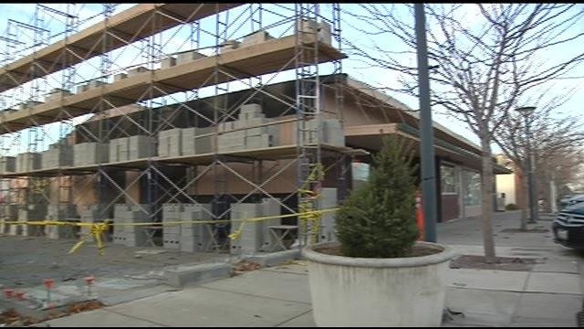 The first new construction project in almost two decades is underway along The Parkway in the historic part of downtown Richland.