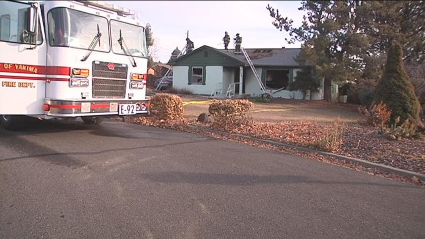 A flurry of fires kept Yakima firefighters on their toes Friday.  The first alarm went off around 9 a.m. Firefighters quickly got to the house on the 700 Block of South 70th Avenue.