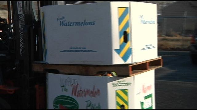 A big boost for the Tri-City Food Bank on Friday, just in time for the holidays.