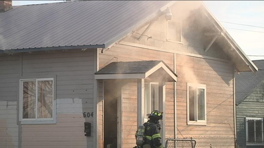 Yakima Firefighters said another house fire broke out around noon Friday.