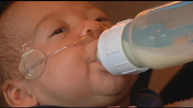The Zamora family in Pasco calls their newborn, Daxon, a miracle baby.