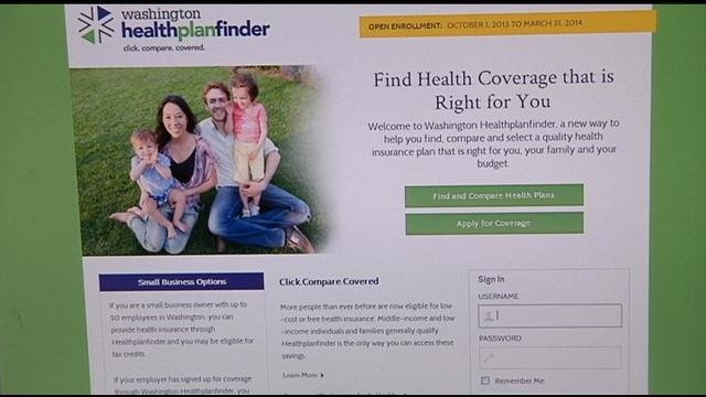 The state's healthcare exchange website continues to deal with glitches as more people than ever are trying to sign up.