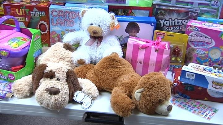 Victims of domestic violence are getting help to make sure their children have presents to open Christmas morning.