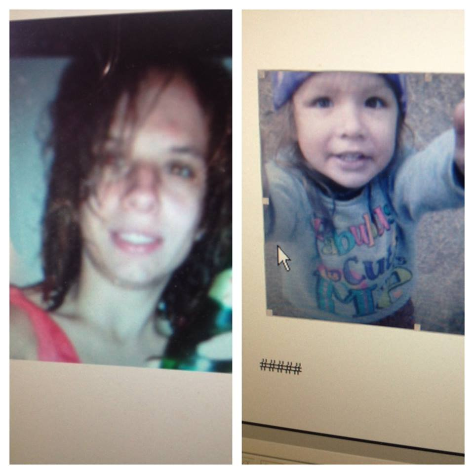 Police said Jaqui McCullough took her daughter Ahrianna Vela have been found in Portland.