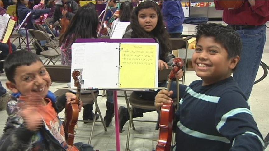 """The """"Music in Accion"""" program is getting $25,000 from the Getty Education and Community Investment Grants Program."""