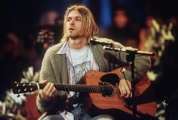 Nirvana Frontman Kurt Cobain
