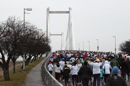 The registration for Saturday's Lampson's Cable Bridge Run has been extended.