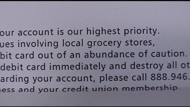 Gesa Credit Union is taking extra precautions to protect their customers after recent credit fraud problems at local grocery stores.