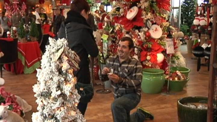 She thought they were going shopping, but he had already been shopping…for a ring!