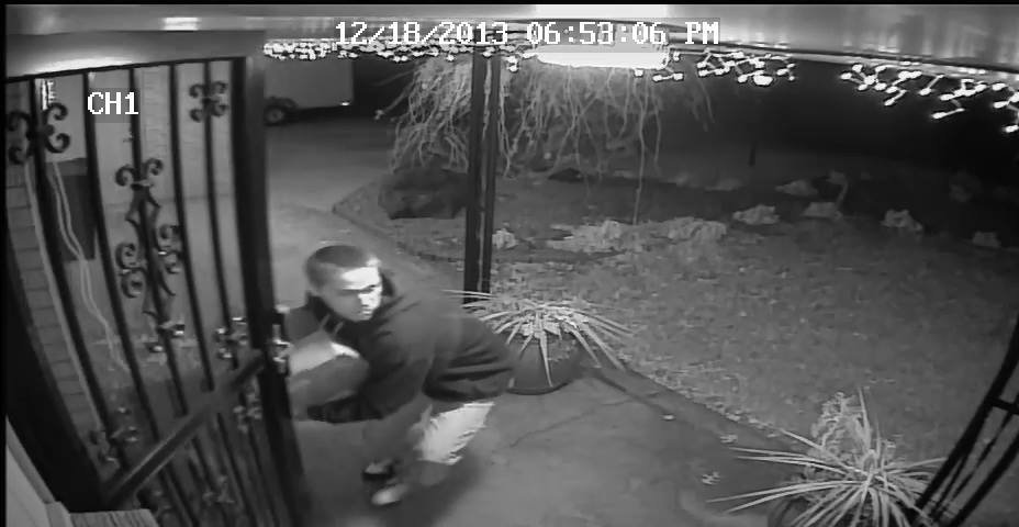 Yakima Police say a man who has been stealing Christmas presents from several homes is now off the streets.