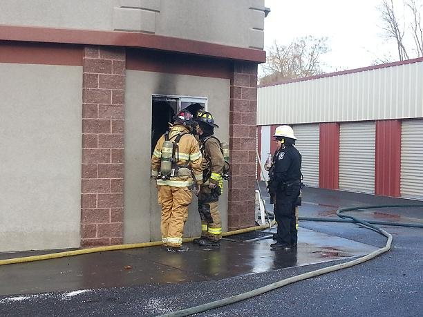 Firefighters are trying to figure out what sparked a fire at the Thai City Restaurant, on Van Giesen Street in West Richland.